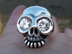 Skull Ring (Bright Eyes)