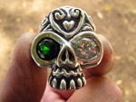 Custom Skull Ring (Michaels)