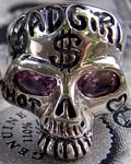 Bad Girl Skull Ring