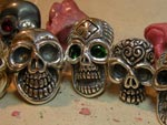 Skull Rings 			On TC's Workbench Jan. 09