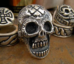 Custom Sailors Skull Ring