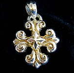 006. Gold Magic Cross Necklace.jpg