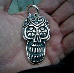 018, Day OF The Dead Skull Medallion.JPG