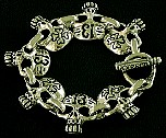 030. Lucky 13 and Cross Bones Skull Bracelet.jpg