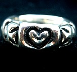 051. Custom Silver Heart Ring.JPG