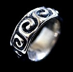 053. Custom Silver Wave Band.jpg