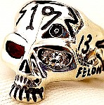 10R. Custom Fun Loving Hooligan Skull Ring.jpg