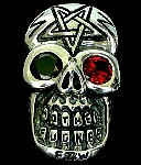 14s.  Superskull Silver Pentagram MF Skull Ring.jpg