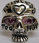 49R. Silver Skull Ring For Princess.jpg