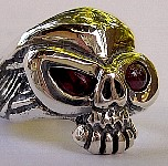 50LS. Lil Stinkeye Skull Ring Ruby Eyes.jpg
